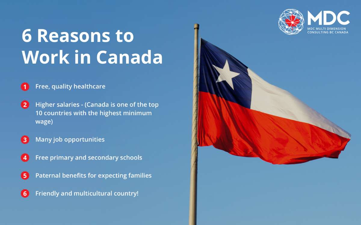 6 Reasons to Work in Canada as a Chilean