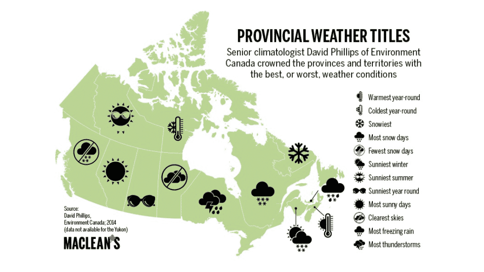 Canada Weather Info graphic