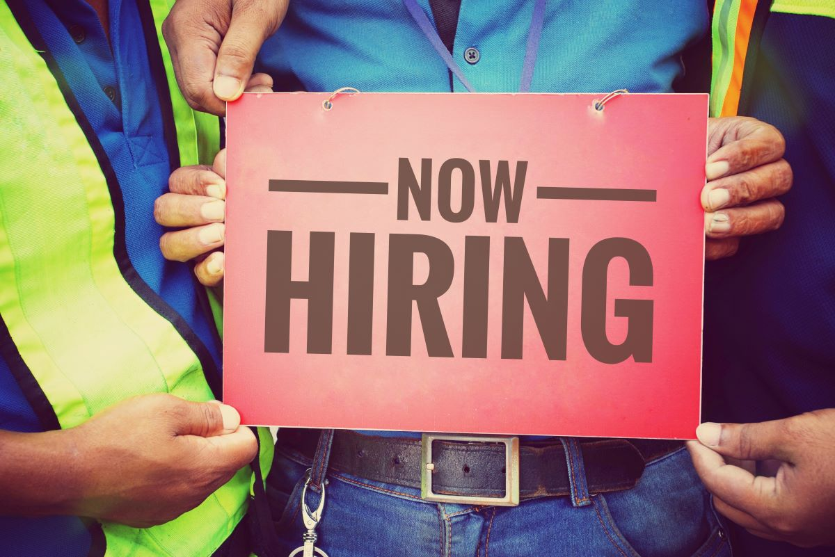Now Hiring Trades persons