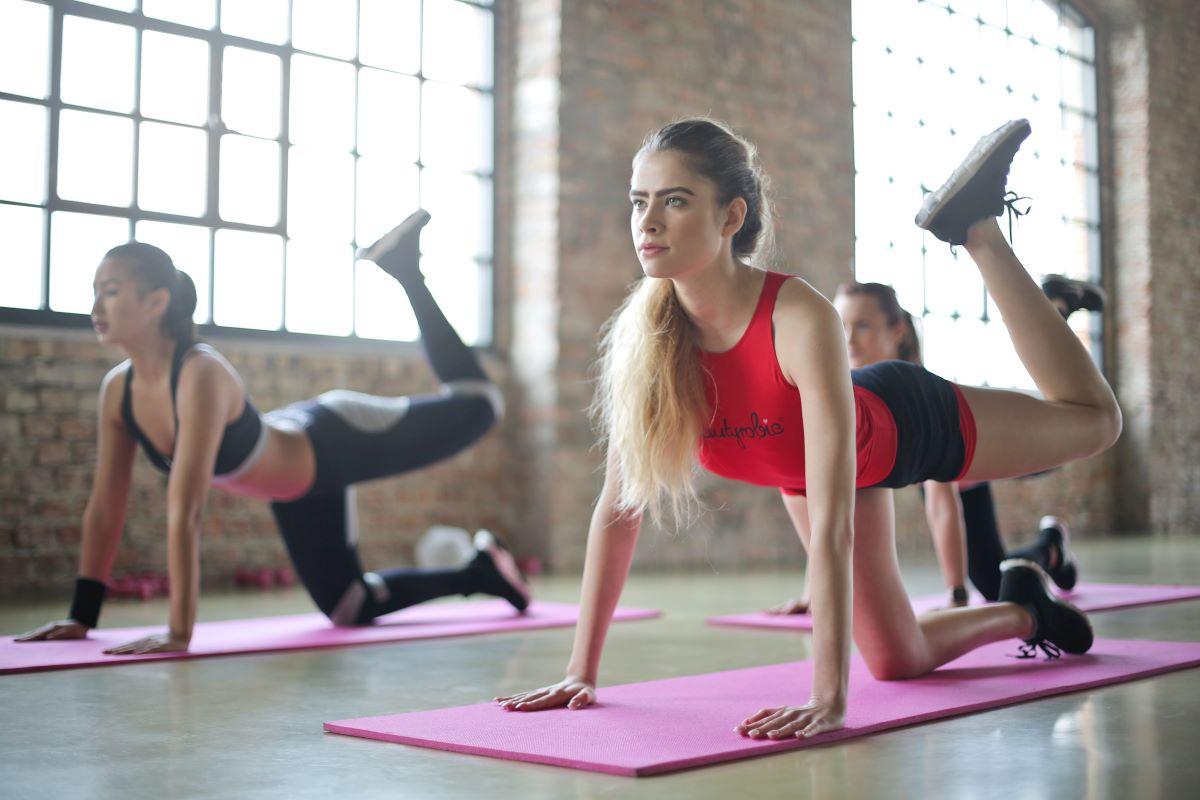 Women's gym class