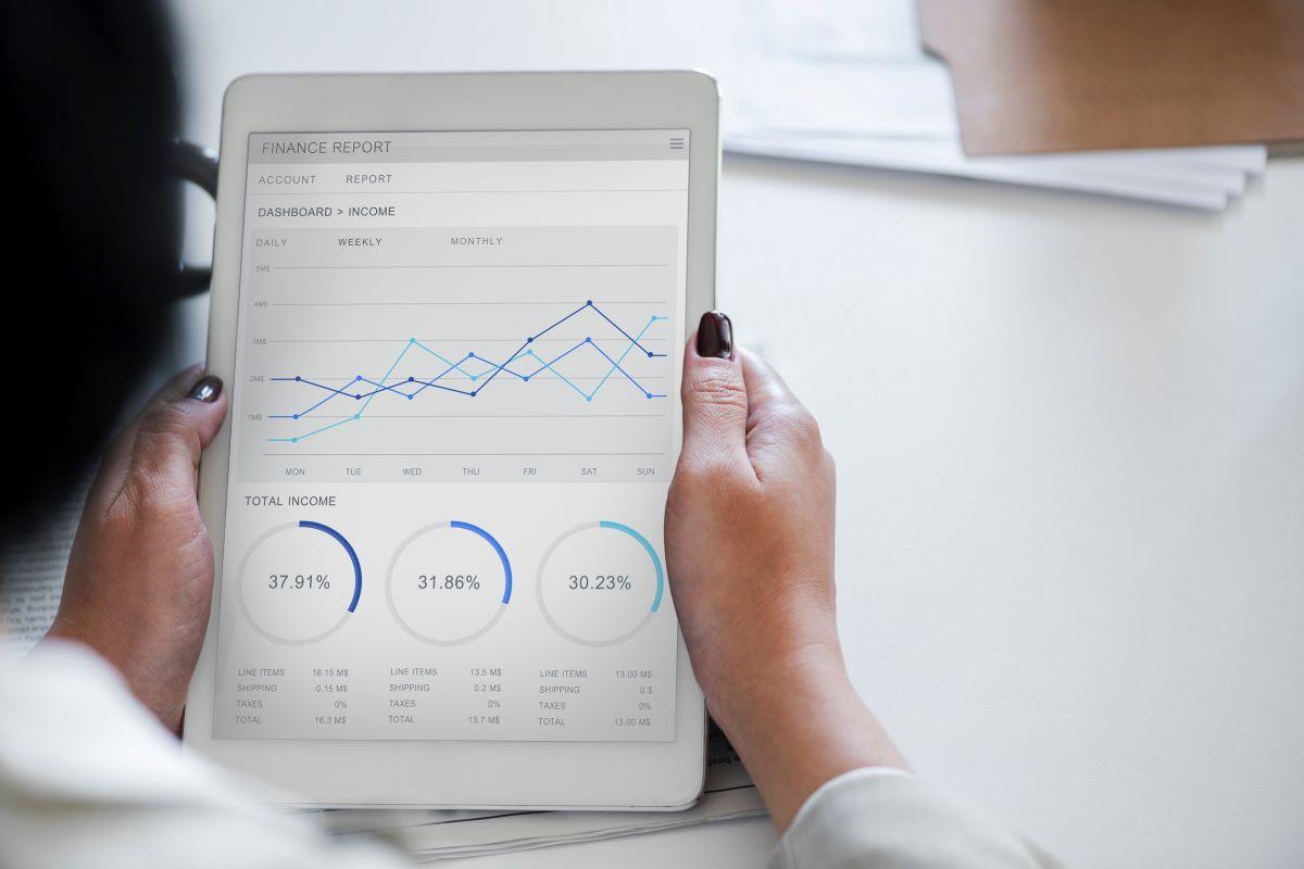 finance projections on ipad