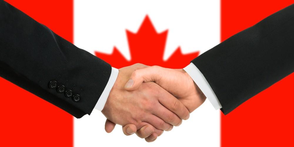 canada handshake