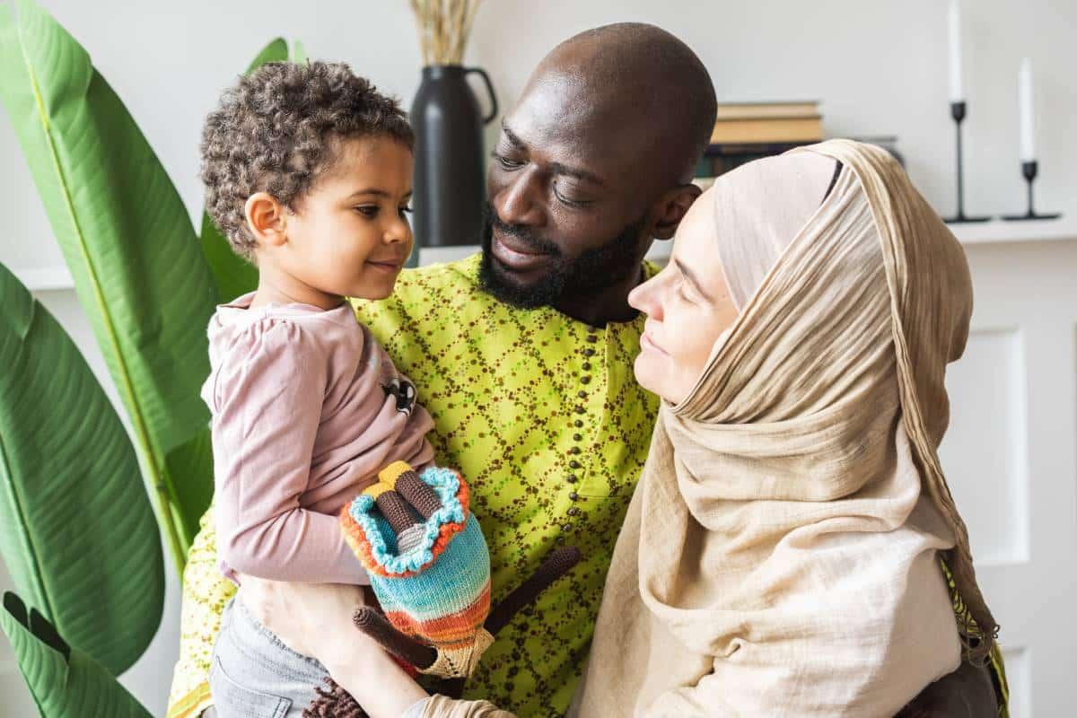 multi-racial Muslim family in Canada | immigrate to Canada