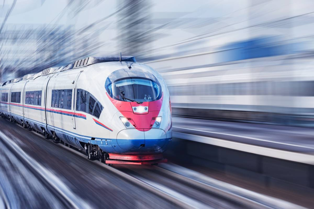 speeding train blurr   immigrate to Canada